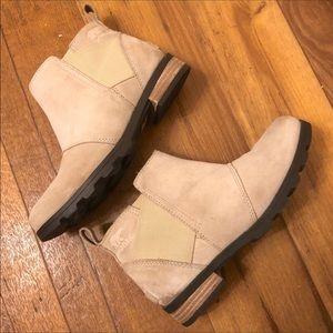 Sorel Emelie Chelsea Waterproof Leather Boots